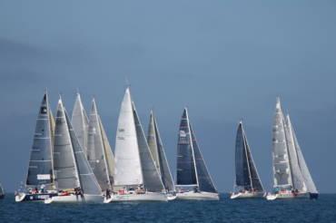 La flotte en approche de Carteret