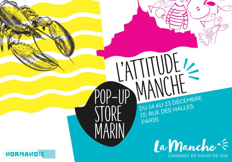 La Manche ouvre un Pop-Up store marin à Paris du 14 au 23 décembre 2017