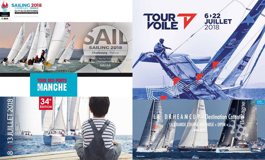 La Manche accueille plusieurs évènements nautiques en 2018