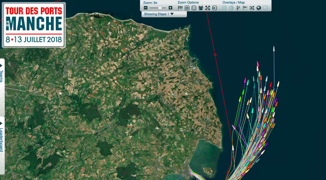 Stage #1 : ahead to Cherbourg-en-Cotentin