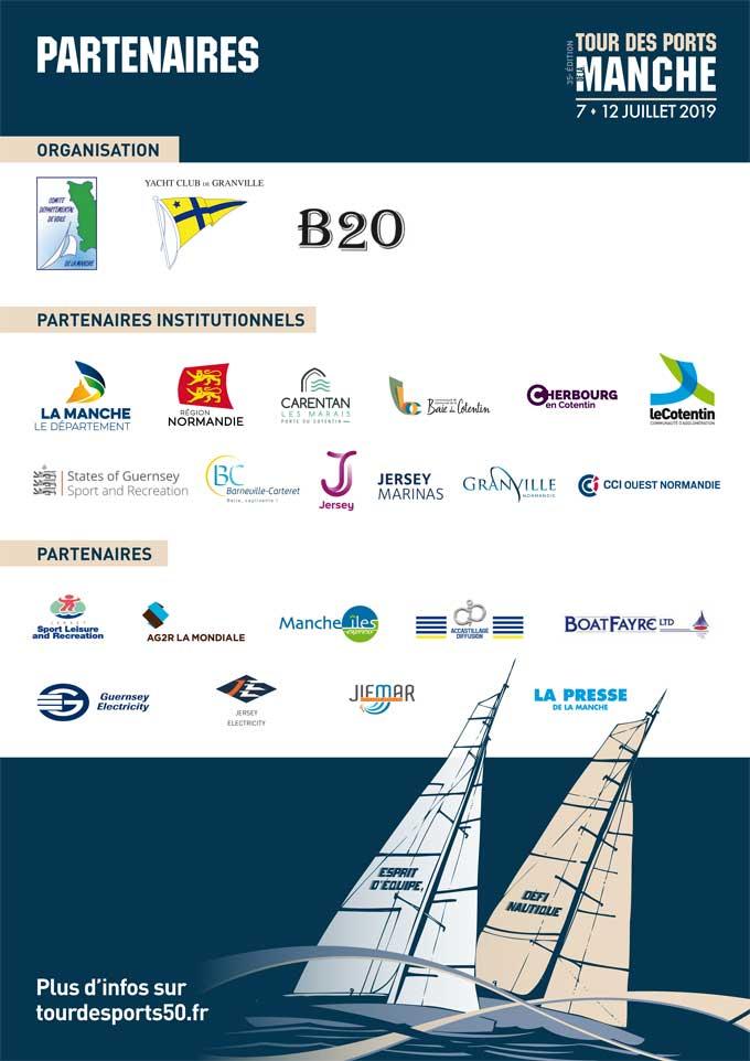 Partenaires du Tour des Ports de la Manche-2019