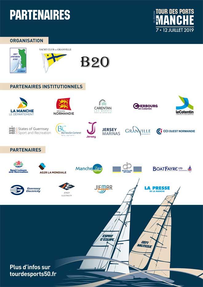 Partenaire du Tour des Ports de la Manche-2019