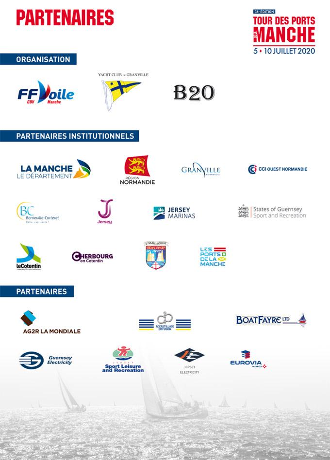 Partenaires du tour des ports de la manche 2020